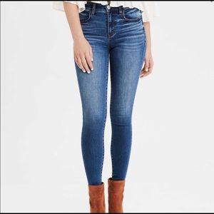American Eagle | High Rise Waist Jeans 4 Short
